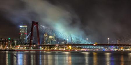 Rotterdam Skyline foto - Wereldhavendagen 2013