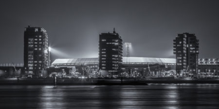 Feyenoord stadion De Kuip by Night