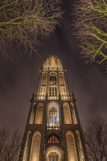 Utrecht by Night - Domtoren