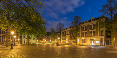 Utrecht by Night - Domplein