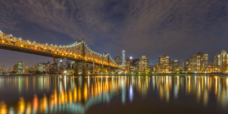 New York Skyline foto - Queensboro Bridge