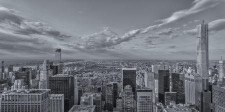 New York Skyline foto - Central Park