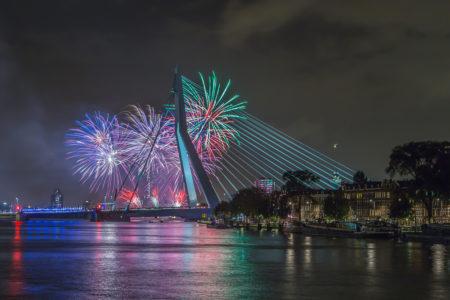 Rotterdam Skyline foto - Wereldhavendagen 2015