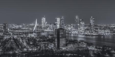 Rotterdam Skyline - Uitzicht vanaf de Euromast