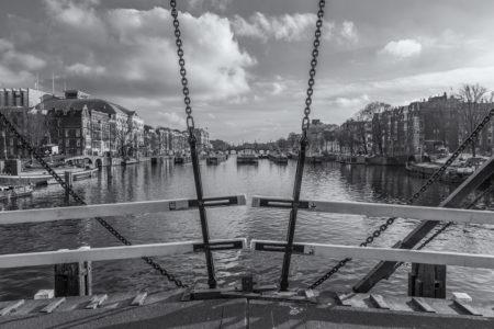 Amsterdam binnenstad foto - Magere Brug