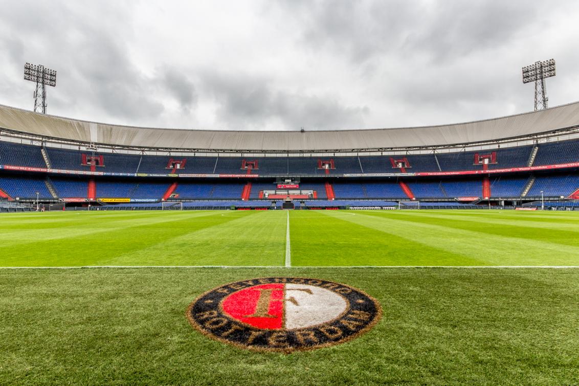 Feyenoord stadion de kuip van binnen tux photography shop for Canvas feyenoord de kuip