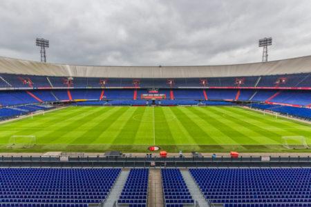 Feyenoord stadion De Kuip van binnen