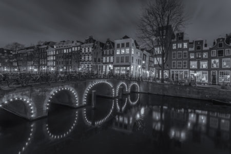 Amsterdam by Night foto - Herengracht