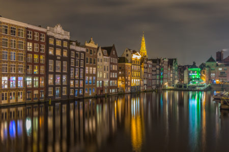 Amsterdam by Night - Damrak