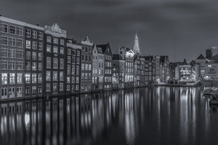 Amsterdam by Night - Damrak