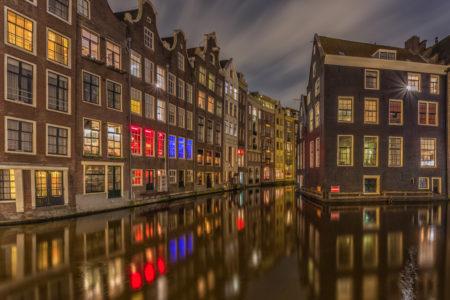 Amsterdam by Night - Oudezijds Voorburgwal