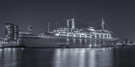Rotterdam Skyline foto - SS Rotterdam