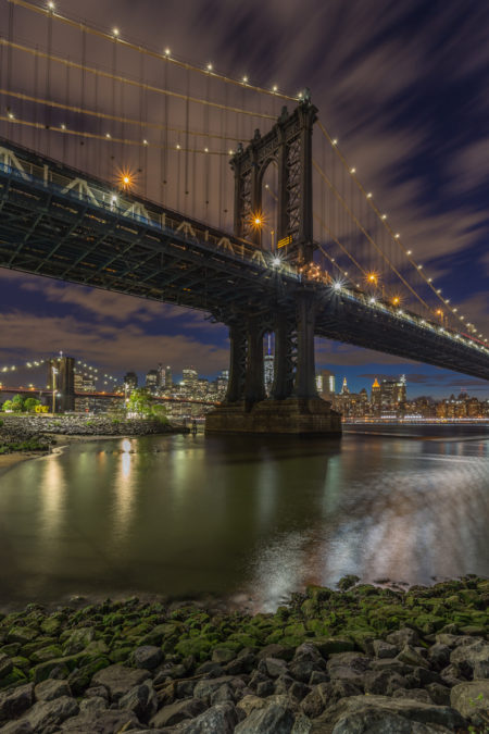 New York Skyline foto - Manhattan Bridge