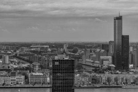 Feyenoord stadion De Kuip van boven