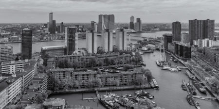 Rotterdam Skyline - Rotterdam van boven
