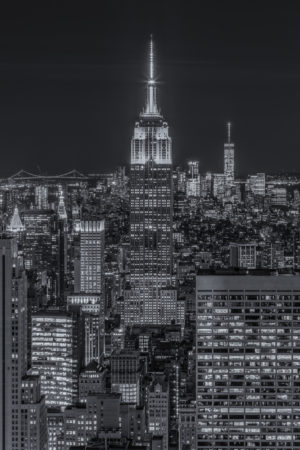 New York Skyline foto - Empire State Building