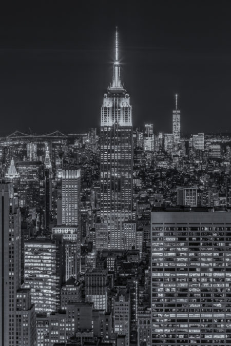 New York Skyline foto - Empire State Building