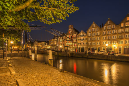 Dordrecht by Night - Wolwevershaven