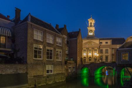 Dordrecht by Night foto - Stadhuis Dordrecht
