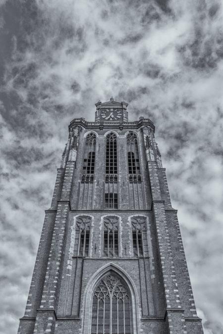 Dordrecht binnenstad foto - Grote Kerk Dordrecht