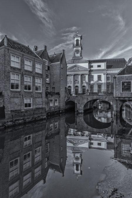 Dordrecht binnenstad foto - Stadhuis Dordrecht