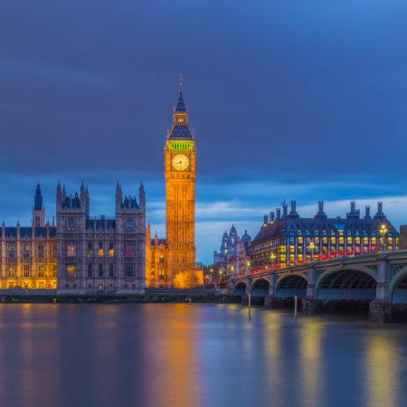 Londen by Night - Big Ben en Palace of Westminster