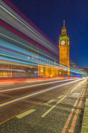Londen by Night - Big Ben en Palace of Westminster