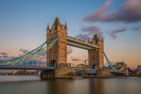 Londen by Night foto - Tower Bridge