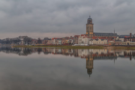 Deventer Skyline by Night | Tux Photography