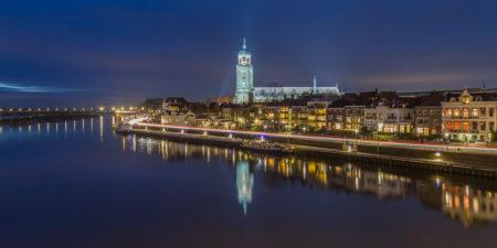 Deventer Skyline by Night   Tux Photography