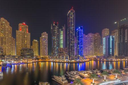 Dubai by Night foto - Dubai Marina | Tux Photography Shop