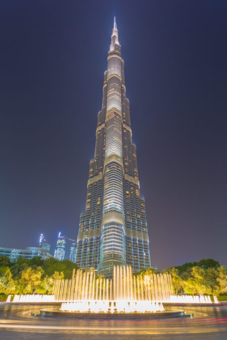 Dubai by Night foto - Burj Khalifa | Tux Photography Shop