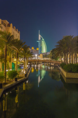 Dubai by Night foto - Burj al Arab | Tux Photography Shop
