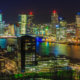 Rotterdam Skyline foto - Uitzicht vanaf de Euromast