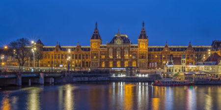 Amsterdam by Night - Amsterdam Centraal