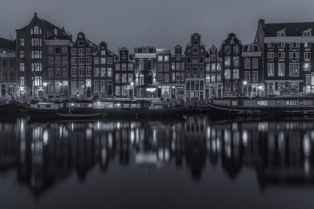 Amsterdam by Night foto - Singel | Tux Photography