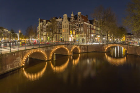 Amsterdam by Night foto - Keizersgracht | Tux Photography