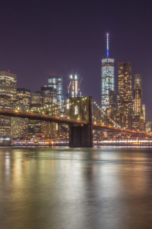 New York Skyline foto - Brooklyn Bridge | Tux Photography