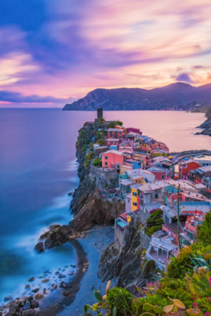 Vernazza by Night - Cinque Terre, Italië | Tux Photography