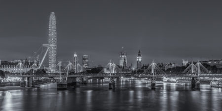Londen by Night foto - Londen Eye, Big Ben en Palace of Westminster | Tux Photography