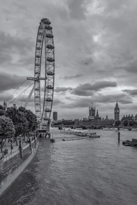 Londen foto - London Eye, Big Ben en Palace of Westminster | Tux Photography