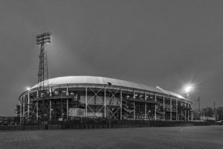 Feyenoord Rotterdam stadion De Kuip by Night