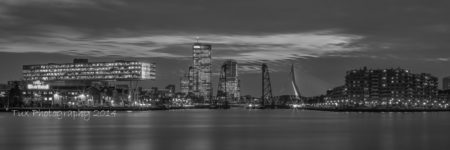 Rotterdam skyline vanaf de Maasboulevard | Tux Photography Shop