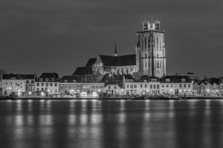 Grote Kerk in Dordrecht in zwart-wit | Tux Photography Shop