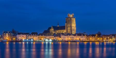 Skyline van Dordrecht met de Grote Kerk | Tux Photography Shop