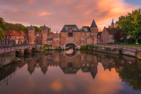 De Koppelpoort in Amersfoort bij zonsondergang | Tux Photography Shop