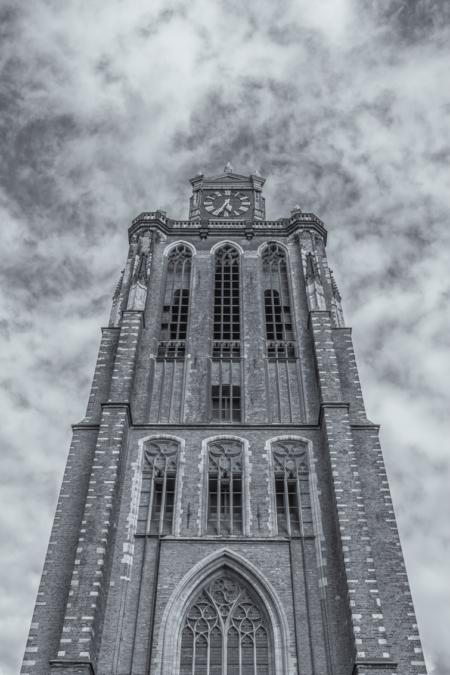 Dordrecht binnenstad foto - Grote Kerk in Dordrecht