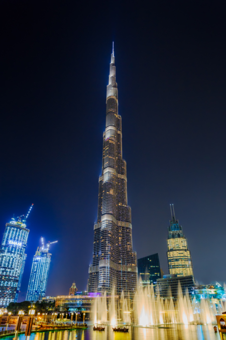 Dubai by Night foto - Burj Khalifa - 2