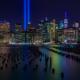 New York City Skyline - 9-11 Tribute in Light